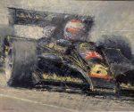 "Mario Andretti-Lotus 78 | 20"" x 24"" | Peter Hearsey"