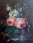 "Two Roses | 14"" x 11"" | Stanislas Kostka"