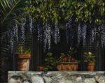 "Shades Wisteria 24"" x 20"" - Oil on Canvas - Karen Holt"