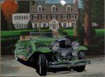 "1929 Dusenberg | 9""x12"" | Ken Eberts"