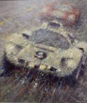 "Chaparral at Le Mans | 22""x18"" 