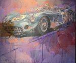 "Aston Martin #5 | 15"" x 18"" | Stanley Rose"