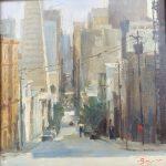 "Montgomery Street | 12"" x 12"" | Richard Boyer"