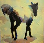 "Pasture Bound | 48"" x 48"" 