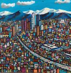 "LA Winter | 20"" x 20"" | Paul Ventura"