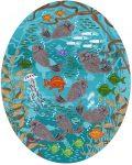 Carmel Bay Otters 24 | Acrylic | Merry Kohn Buvia