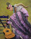 Flamenco | 60″ x 48″ | Vladimir Muhin