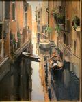 Dark Canal | 30″ x 24″ | Thalia Stratton