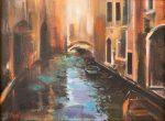 Glistening Venice | 12″ x 16″ | Thalia Stratton
