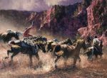 The Round Up | 30″ x 40″ | Robert Hagan