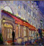 Maxim's Paris | 48″ x 48″ | Dorothy Spangler