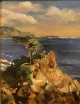 Carmel Point Lobos   10″ x 8″   Stratton