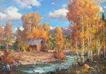 "October Day | 30"" x 40"" | Ovanes Berberian"