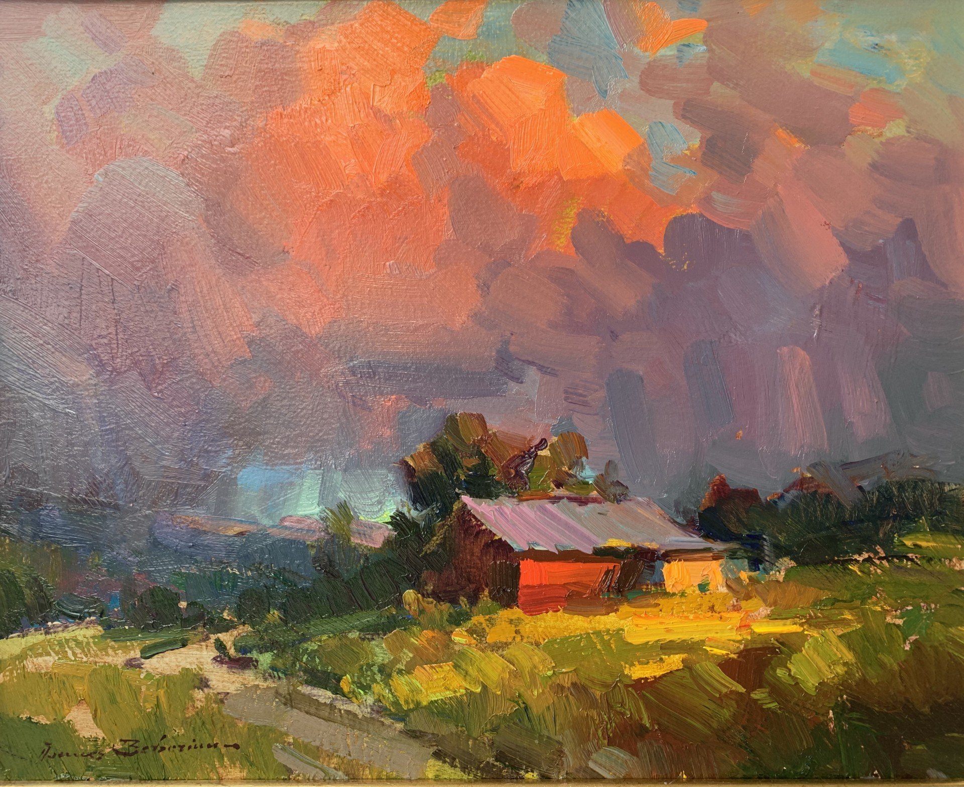 """The Approaching Storm 