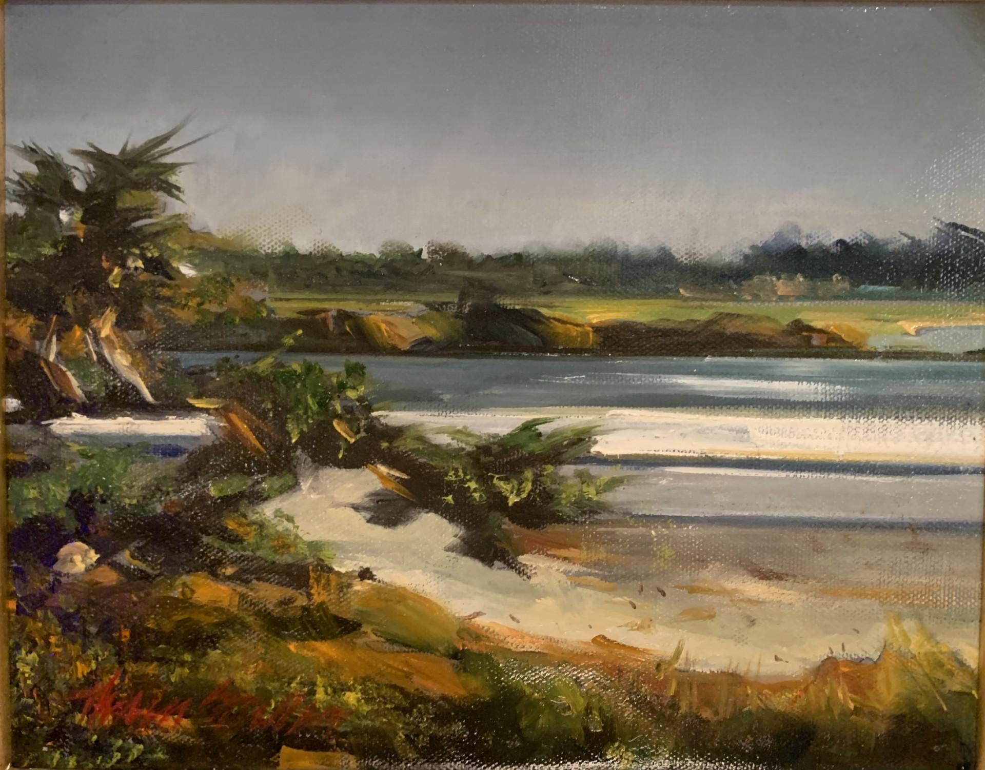 Carmel Beach 1 | 8″ x 10″ | Stratton