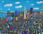 Summer in the City | 48″ x 60″ | Ventura