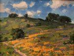 Spring in California | 14″ x 18″ | Ovanes Berberian