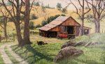Grizzley Gulch Ranch | 10″ x 16″ | Barbara Conley