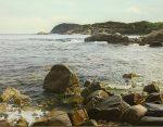 "The Land & the Sea | 21""x28"" | Iban Navarro"