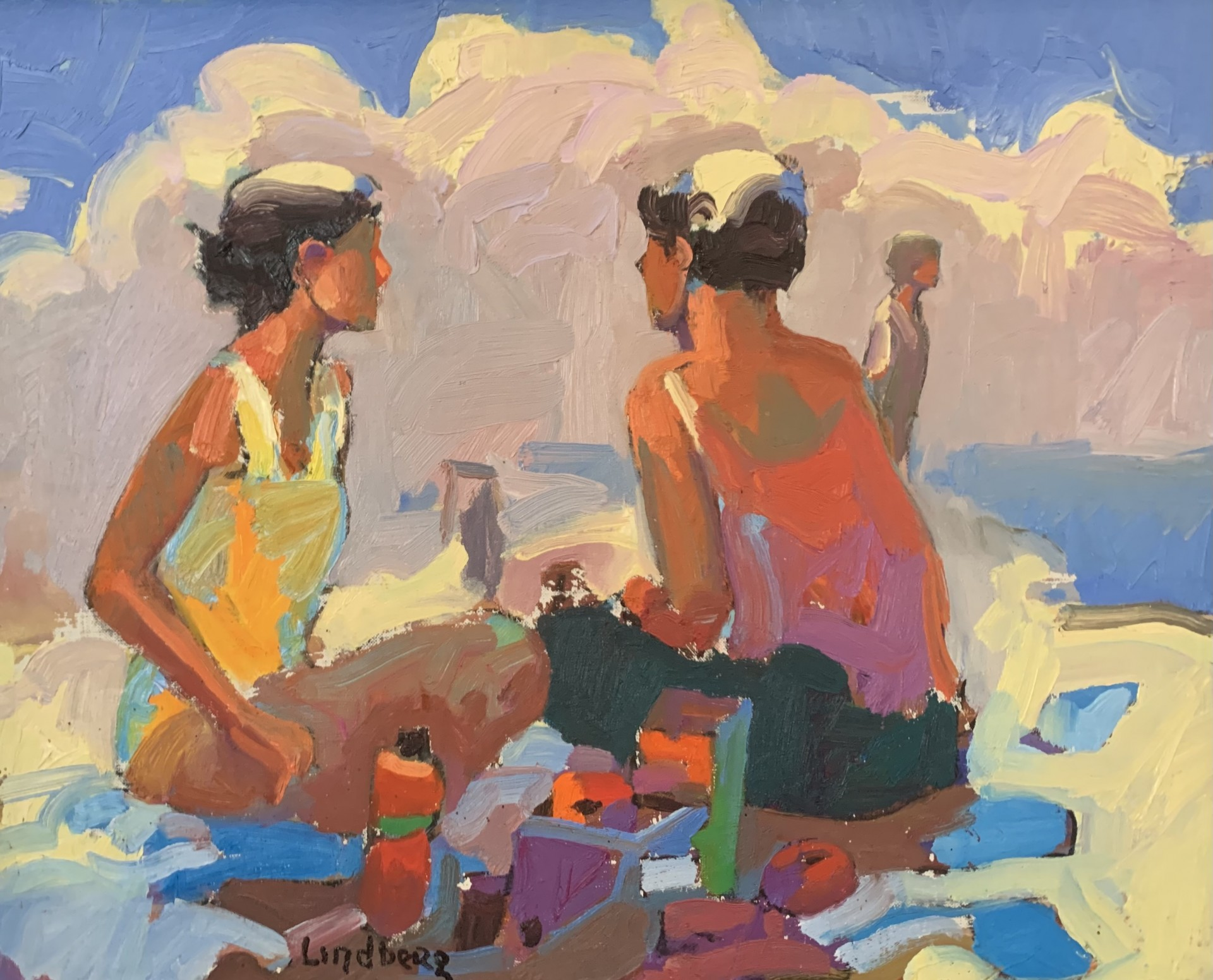 Beach Days | 16″ x 20″ | Lindberg