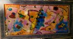 """Kandinsky   28"""" x 59""""   Cruciani"""