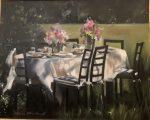 "Garden Table II   16"" x 20""   Stratton"