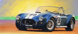 "Blue Cobra | 20"" x 45"" | Charles Maher"