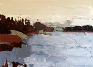 "Stockholm Lake | 18"" x 24"" | Sandra Pratt"