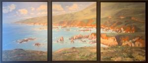 Coastal Harmony | 24″ x 18″ (x3) | Mike Bagdonas
