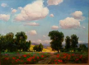 "Afternoon Shadows | 30"" x 40"" 