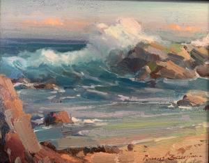 Crushing Wave | 8″ x 10″ | Ovanes Berberian