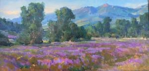 "Flowering Fields | 12"" x 24"" 