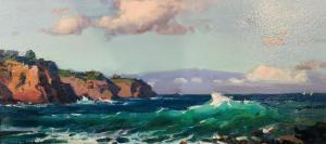 High Tide (Keo Kea Hawaii) | 9″ x 19″ | Ovanes Berberian