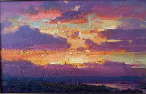 Late Sunset | 9″ x 14″ | Ovanes Berberian