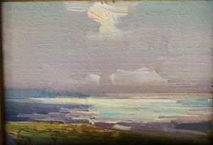 Light Over Water | 5″ x 7″ | Ovanes Berberian