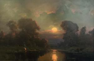 Moonlit Night | 24″ x 36″ | Ovanes Berberian