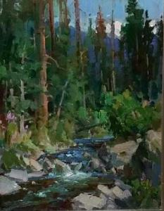 "Mountain Creek | 18"" x 14"" 