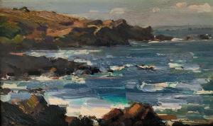 Pacific Coast | 8″ x 13″ | Ovanes Berberian