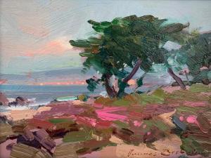 Ovanes Berberian | Pacific Grove | 6x8 | Oil