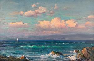 Ovanes Berberian | Pacific Shores | 8x12 | Oil