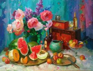 """Still Life with Melons 