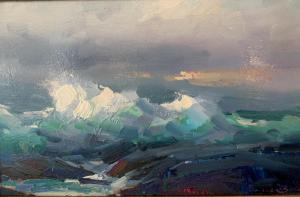 Stormy Day | 9″ x 14″ | Ovanes Berberian