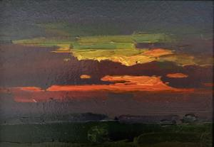 Sunset Glow | 5″ x 7″ | Ovanes Berberian