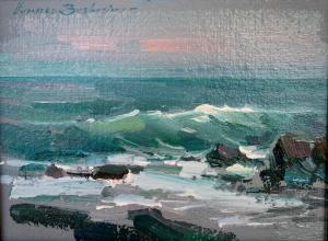 "Incoming Tide | 6"" x 8"" | Berberian"