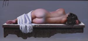 "Floating Memories | 8"" x 16"" | Josep Borrell"