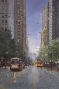 Market Street Trolley | 60″ x 40″ | Richard Boyer