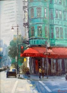 "Cafe Zoetrope | 16"" x 12"" 