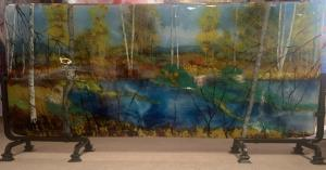 River Front | 16″ x 30″ | Ann Cavanaugh