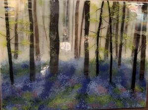 Wild Hyacinths | 18″ x 24″ | Ann Cavanaugh