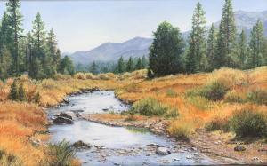 "Carson River | 10"" x 16"" | Barbara Conley"